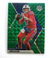 Josh Allen Panini Mosaic Green Prizm #26 Buffalo Bills NFL