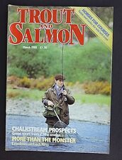 Trout And Salmon, March 1988, Salmon Fisher's Surgery, Spate River Trouting.