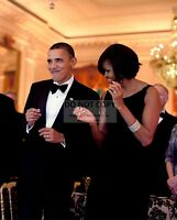 BARACK OBAMA & MICHELLE DANCE DURING GOVERNORS BALL IN 2010  8X10 PHOTO (ZY-540)
