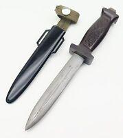 Rare East German NVA Paratrooper Combat Knife KM66 2nd Model Kampfmesser M 1966