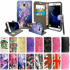 Wallet Pouch Leather Book Flip Case Cover For Various Mobile Phones+Free Stylus
