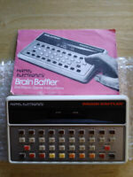 Vintage 1979 Mattel Electronics Brain Baffler Game with Instructions