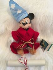 Disney Mickey Mouse Sorcerer's Apprentice Fantasia 50th Anniversary Ltd Ed New
