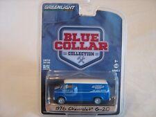 2017 GreenLight Blue Collar Series 1976 Yenko Chevy G20 Delivery Van