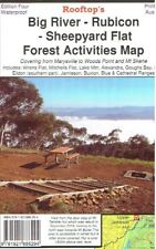 ROOFTOP'S BIG RIVER - RUBICON - SHEEPYARD FLAT WOODS POINT FOREST ACTIVITIES MAP