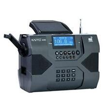 Kaito Ka900 w/ Free Sw Antenna! Digital Solar Am/Fm/Sw Noaa Stereo Radio Mp3 etc