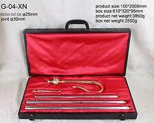 "traditional Bishop Crosier -  brass&stainless steel W CASS - H 78 "" G-04-XN"