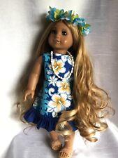 "Custom American Girl ""KONA"" base doll Kanani"