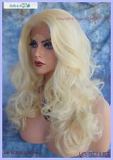 Lace Front Wig Layered Soft Sexy Long Foxy Alluring Curls CLR 613  US SELLER 217