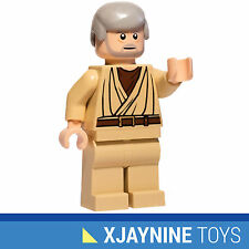 LEGO STAR CLONE WARS Obi Wan Kenobi Old Ben Version Minifig NEW RARE 8092