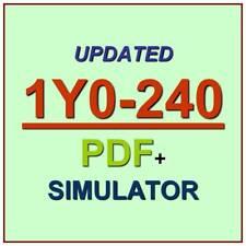 Citrix NetScaler 12 Essentials and Traffic Management Test 1Y0-240 Exam QA+SIM