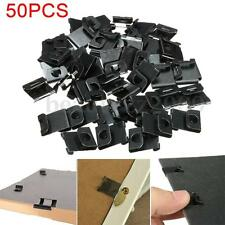 50PCS Hangers Clips Fix Hanging Hooks For Picture Photo Frames Wall Artwork