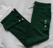 "POLO Ralph Lauren ""Jogging Pantaloni"" DARK GREEN PILE PANT TAGLIA XS"