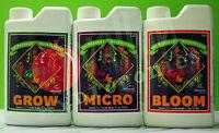 Advanced Nutrients PH-PERFECT 3-Part Base 1L 4L: GROW MICRO BLOOM AN PP GMB
