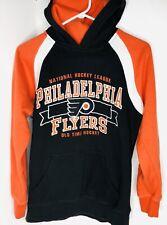 Vintage Youth Large Adult Small Philadelphia Flyers NHL Hockey Sweatshirt Embroi