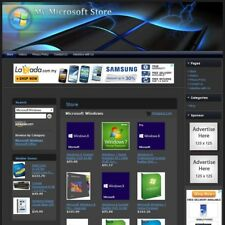 MICROSOFT SOFTWARE STORE - Professionally Designed & Fully Functional Website!