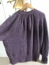 and/or john lewis Purple Jumper Small