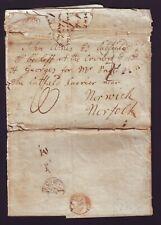 GB LONDON PIMLICO NORFOLK CATFIELD NORWICH 1806
