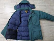 vintage EDDIE BAUER parka GOOSE DOWN coat MEDIUM  green