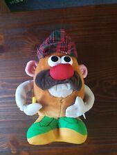Nanco Brand Mr. Potato Head Stuffed Animal Golfer with Plaid Hat Plush