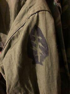 Vietnam 69 Dated Special Forces Jungle Jacket Medium Regular