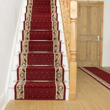Pin Dot Red - Stair Carpet Runner For Narrow Staircase Modern Quality Cheap New