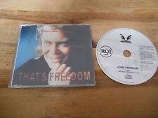 CD Pop John Farnham - That's Freedom (3 Song) MCD RCA WHEATLEY sc