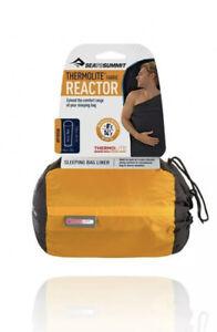 Sea to Summit Thermolite Fabric Reactor Sleeping Bag Liner, Regular Camping