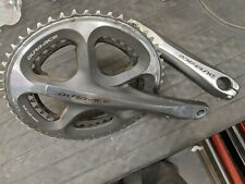 Shimano Dura Ace FC-7900 180 mm Crankset needs rings, arms excellent