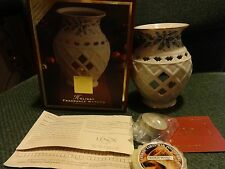 Lenox Holiday Fragrance Warmer New In The Box With Yankee Candle