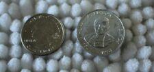 Shell Gas Thomas Edison Inventor Famous Americas Game Token Coin #29069