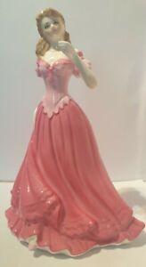 Royal Worcester Elizabeth Lady Figurine Limited Edition Les Petites