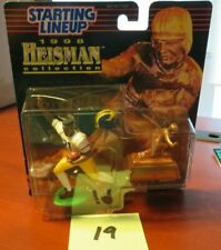 Steve Owens Autographed Starting Lineup Heisman Collection Figure No Cert