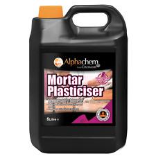 Cromar Alphachem Mortar Plasticiser Pink Mix 5ltr
