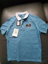 Authentic Automobili Lamborgini  blue Polo shirt size L