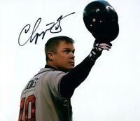 Chipper Jones Autographed Signed 8x10 Photo ( HOF Braves ) REPRINT ,
