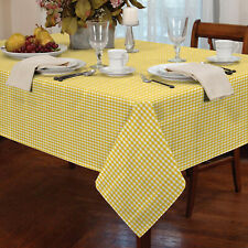 square checked gingham tablecloths for sale ebay rh ebay co uk