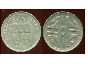 COLOMBIE 200 pesos 1995  ( bis )