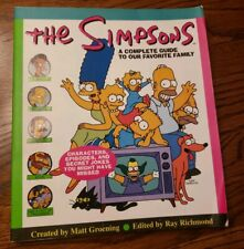"""The Simpsons """"A Complete Guide To Our Favorite Family"""" - Paperback"""