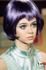 Gabrielle Drake In Ufo With Purple Wig And Silver Outfit 11x17 Mini Poster