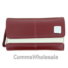 Genuine Original Blackberry Deep Red Leather Carrying Case Curve 8900 Torch 9500