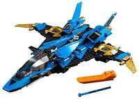 LEGO NINJAGO LEGACY 70668 JAYS LIGHTNING JET BUILD ONLY - NO MINIFIGURES