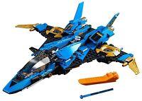 LEGO NINJAGO LEGACY 70668 JAYS LIGHTNING JET BUILD ONLY - NO MINIFIGURES