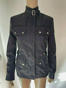 Vintage BELSTAFF GOLD LABEL Women's Biker Style Jacket  Sz 38   Fit 8 10