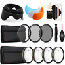 55mm Close UP Macro Kit with Accessory Kit for Nikon D5300 , D5600 and D7100