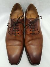 Magnanni Alligator Brown Lace Up Shoe Oxford Size 11 M US Style 16550 Spain