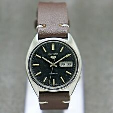 Vintage Seiko 5 Automatic Movement 6309-8440 Japan Made Men's Watch.