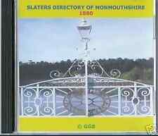GENEALOGY DIRECTORY OF MONMOUTHSHIRE 1880 CD ROM