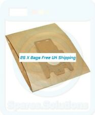 Vacuum Cleaner Dust Bags for Miele S711 S711-1 S712 -Pack Of 25- FJM Type