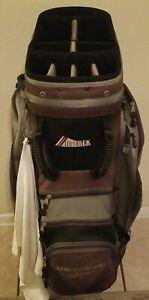 Datrek Michelob Light Golf Bag 9-Way Divider Cart Bag